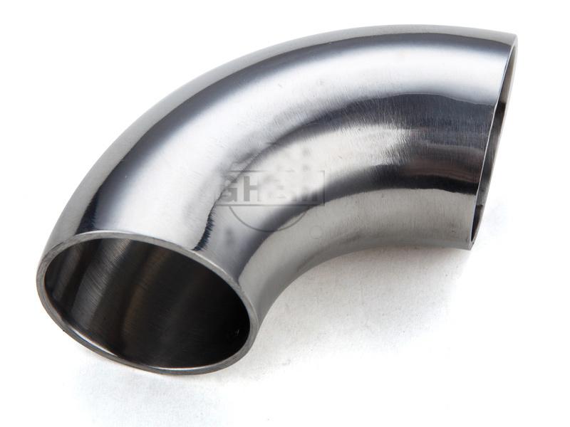 304卫生级不锈钢弯头90度