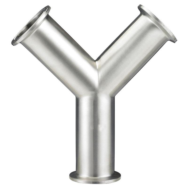 Y型卫生级三通(对焊式、卡箍式)