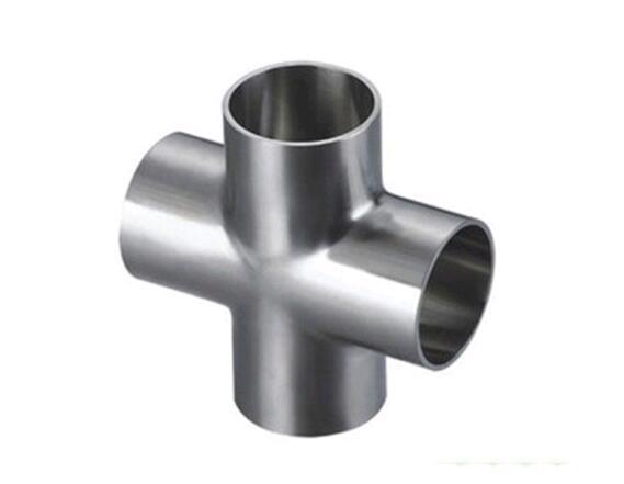 卫生级不锈钢焊接快装四通